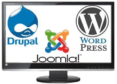 loghi joomla! drupal wordpress